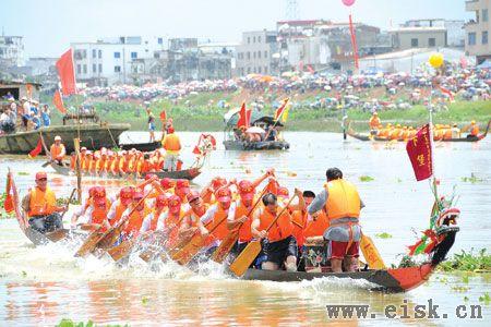 阳江风俗-龙舟竞渡
