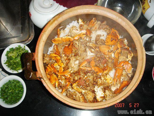 阳江美食-膏蟹饭
