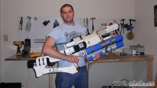 国外打造真实电磁炮