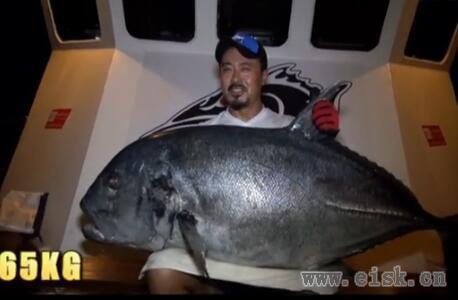 深海猎人民都鲁挑战65kgGT,够刺激!
