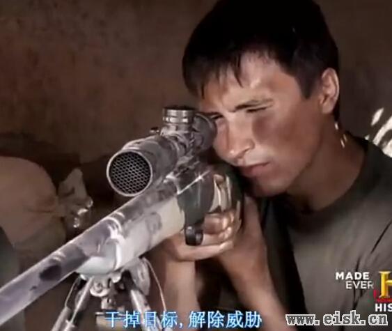 【下】狙击实录:身在瞄准镜(千钧一发)