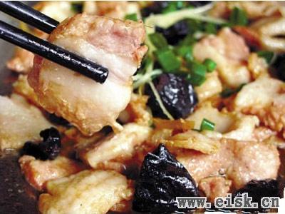 阳江美食-榄角蒸五花肉