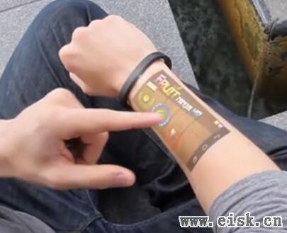 Cicret手镯 让你在皮肤上玩Android设备