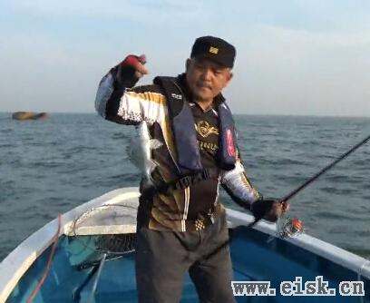 东山岛海钓杰克 船矶钓鱼教学