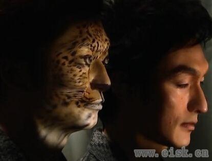 日本震撼的人脸投影技术 一秒就易容!