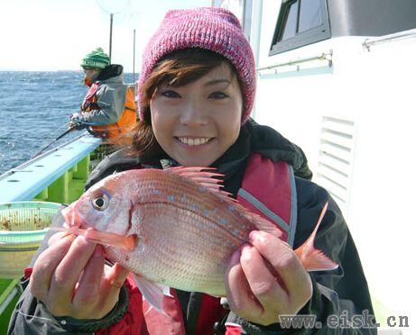 《Rapala游钓世界—日本篇》漂亮的樱花鲷