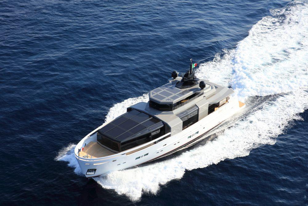 Arcadia Aria.S超级游艇 意大利品牌的最新环保卫士