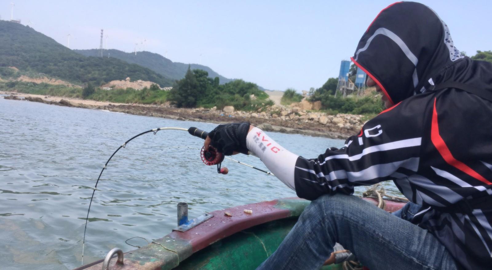 小编海陵岛闸坡镇长沙环鱼排-船筏破龟篇