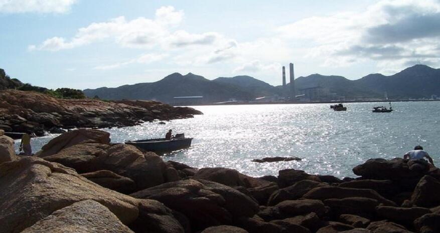 台山赤溪镇黑沙湾-赶海游钓好地方